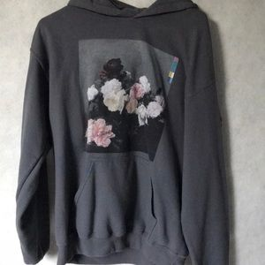 Urban Outfitters Graphic Flower Hoodie